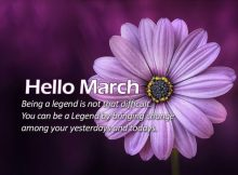 Best Hello March Wallpaper