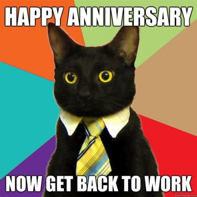 Funny Work Anniversary Memes