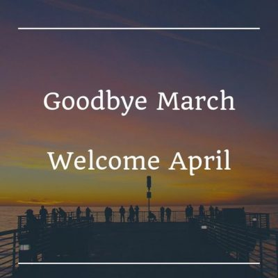 Goodbye March Poster