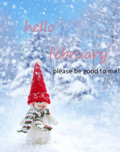 Hello February Winter Pictures