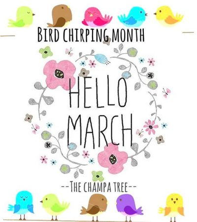 Hello March Image Fee HD