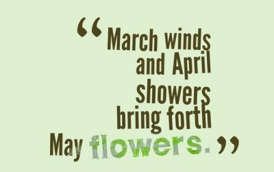 Sweet March Sayings