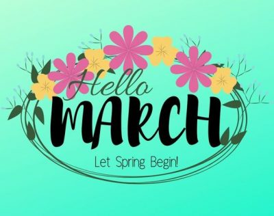 Welcome March Wallpaper For Whatsapp