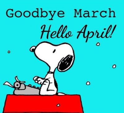 April Snoopy Picture Quotes