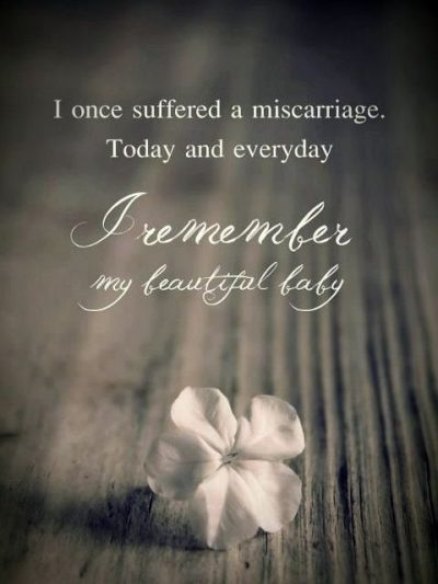 Early Miscarriage Quotes