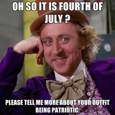 Fourth Of July Humor