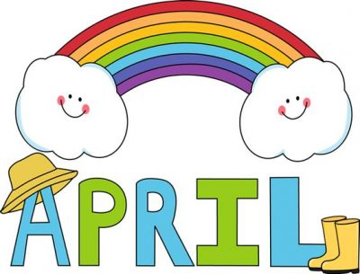 Free Animated April Image