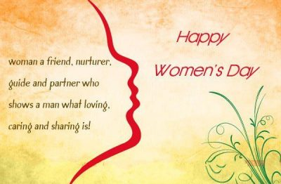 Happy Women's Day Caption