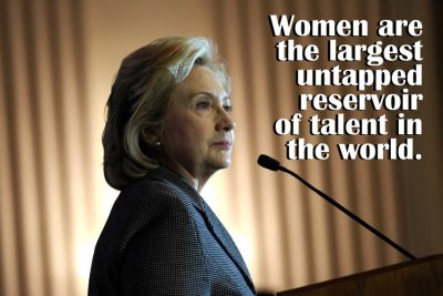 Hilary Clinton Quotes on Women