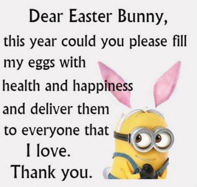 Minion Easter Captions