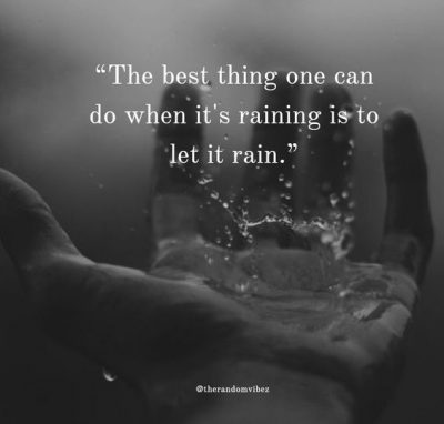 Cute Sayings About Rainy Days