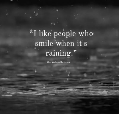 Funny Rainy Day Quotes