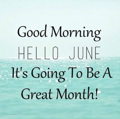 Welcome June Month 2020