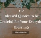 Blessed Quotes for Everyday