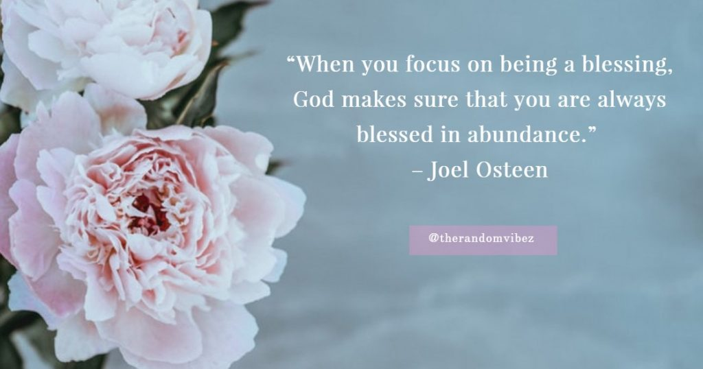 Quotes about Blessing in Life Images