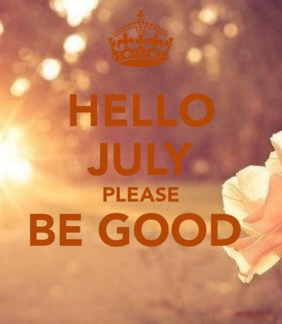 Welcome July Month 2020