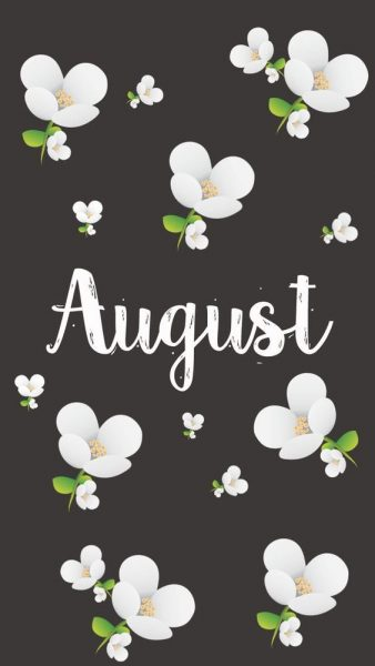 August Wallpaper iphone