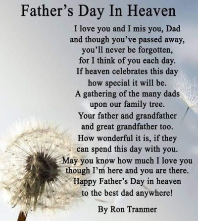 Fathers Day In Heaven Sayings