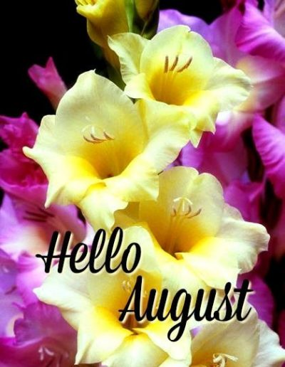 Hello August Flower Pics