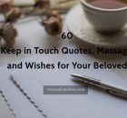 60 Keep in Touch Quotes and Images