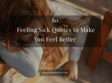 Feeling Sick Quotes