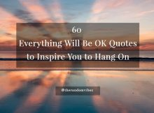 Everything Will be Okay Quotes