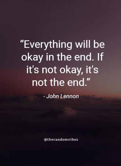 Inspirational Quotes on Everything Will be OK