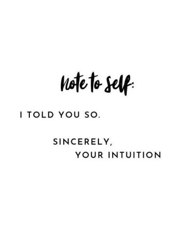 Intuition Picture Quotes