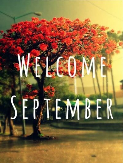 Welcome September Background Pic