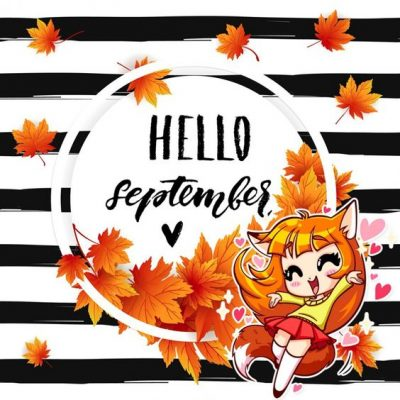 Welcome September Cartoon Images