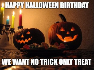 Halloween Birthday Meme