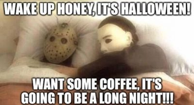 Halloween Morning Meme