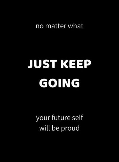 Keep Moving Picture Quote