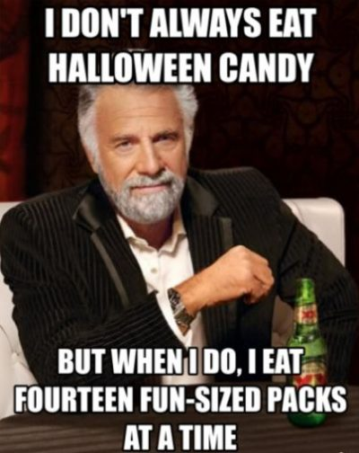 Memes On Halloween Candy