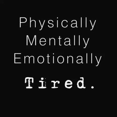 Mentally Tired Quotes