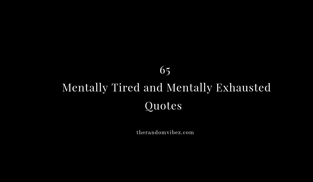 Soul exhausted my is 8 Signs
