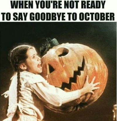 October The Month Of Halloween Memes