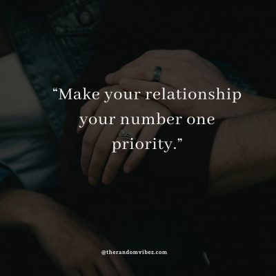 Priority Love Quotes