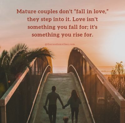 Quotes About Mature Relationship