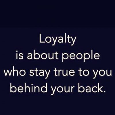 Trust Loyalty Relationship Quotes Pics