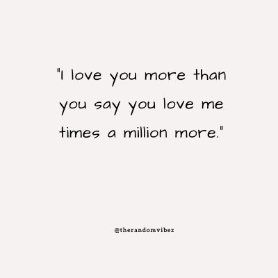 Cheesy Lines I Love You More Than