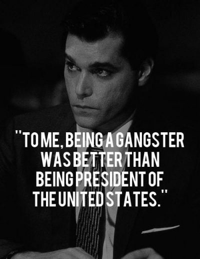 Funny Gangster Quotations