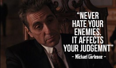 Gangster Quotes About Enemies
