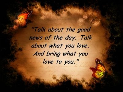 Positive Quotations On Law Of Attraction