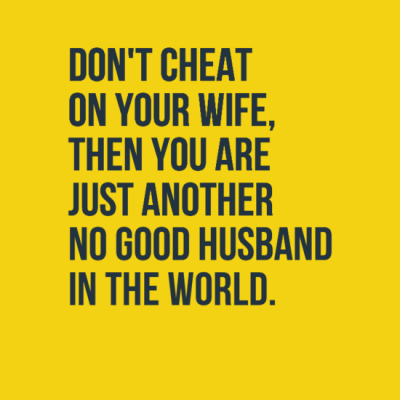 Quotes About Cheating Husband