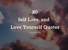 Top 80 Self Love, Self Worth and Love Yourself Quotes