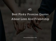 45 Best Pinky Promise Quotes About Love And Friendship