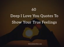 60 Deep I Love You Quotes and Text Messages