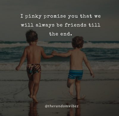 Best Friends Pinky Promise Quotes
