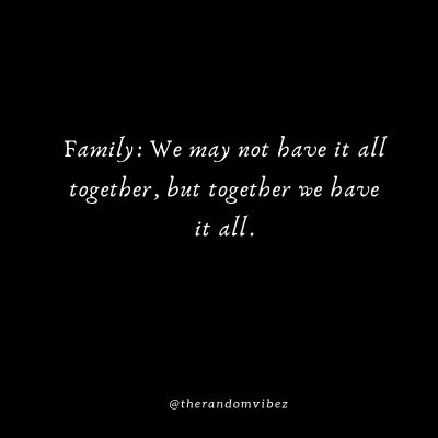Family First Sayings